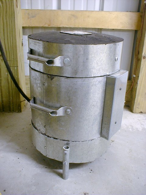 Homebuilt Electric Melting Furnace