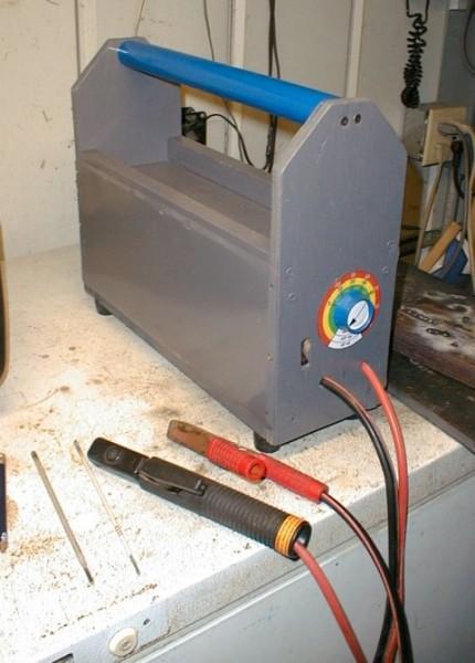 Homebuilt arc welder ndash Dan s Workshop Blog