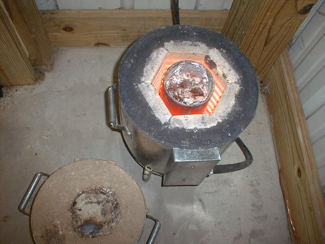Homebuilt Electric Melting Furnace