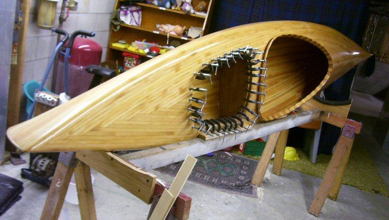Pine-strip Kayak | Dan's Workshop Blog