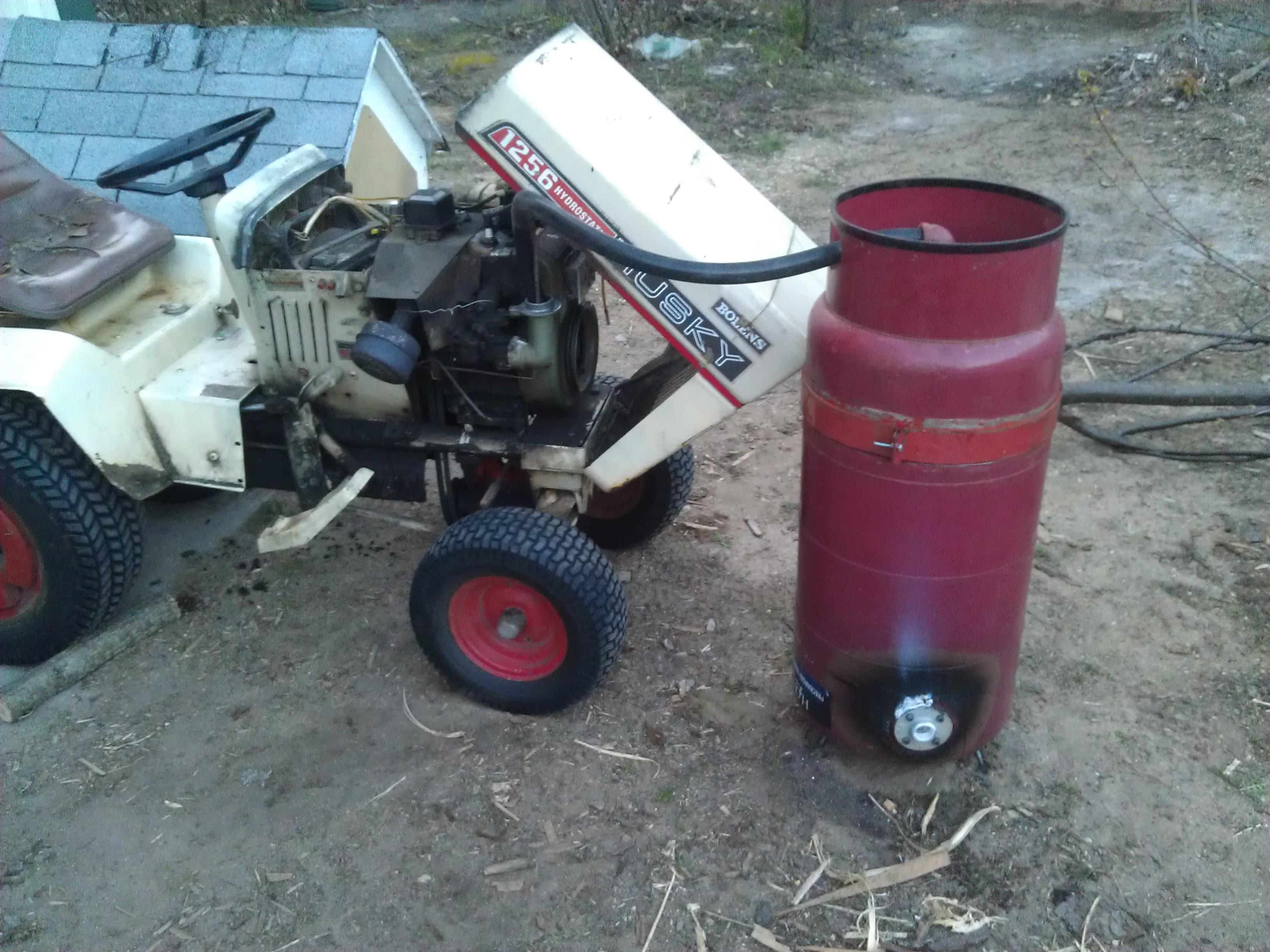 charcoal powered lawn tractor dan 39 s workshop blog. Black Bedroom Furniture Sets. Home Design Ideas
